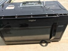 Whirlpool WMH31017FB 30  Black Over The Range Microwave NOB  23921
