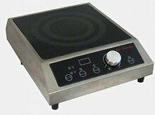 Mr  Induction SR 183C Countertop Commercial Range Induction Burner 1800 watt