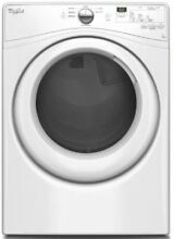 Whirlpool 27  White 7 4 cu  ft  Electric Dryer WED7590FW