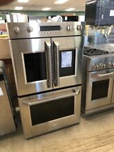 Brand New Floor Model GE Monogram French Door Double Wall Oven ZET2FLSS