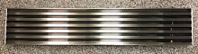 Sub Zero Built In 48  Stainless Steel Pro Louvered Grille  p n 7007134