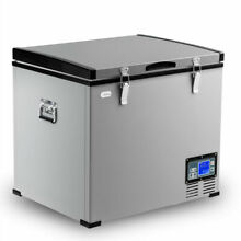 63 Quart Portable Electric Car Cooler Refrigerator   Freezer Compressor Camping