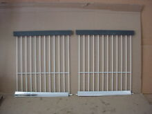 Kenmore Ref  Freezer Section Wire Rack Lot of 2   13 3 8 deep Part   943995