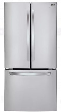 LG LFC24770ST 33 In Stainless Steel French Door Refrigerator