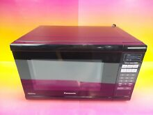 Panasonic NN SN651B Countertop Microwave Inverter Technology 1 2 cu ft Black  IT