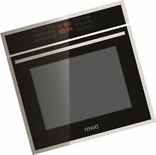 HYAKI 24 LED Digital Touch 12 Cooking Style Electric Built In Single Wall Oven