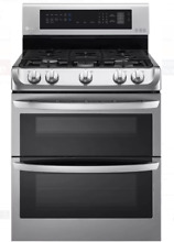 LG LDG4313ST 30 In Stainless Steel Double Oven Gas Range