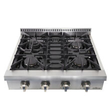 THOR KITCHEN 30  Modern 4 Burners Built in Gas Hob Gas Range Professional E6O7