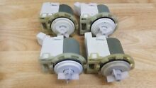 Lot of four W10130913 Whirlpool Maytag Washer Pumps For Washing Machine Used X4