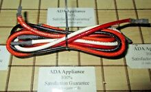 Thermador RDSS30QW 30  Gas Range Spark Wire Set  4 wire