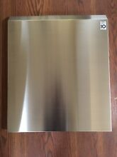 LDF5545ST Dishwasher Outer door panel   Skin Stainless