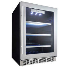 Danby PRO 5 6 CU FT 24  Stainless Built in Beverage Center  Wine  Refrigerator