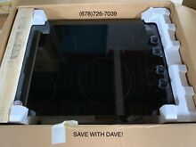 Whirlpool W5CE3024XB Black 30 81 in  Electric Electric Cooktop
