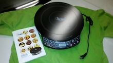 Nuwave Precision Induction Cooktop 30121 cd Cook Book Griddle pan lid whole set
