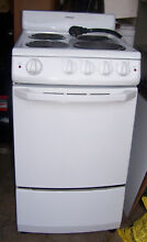 HOTPOINT 20  ELECTRIC STOVE   RANGE   OVEN   White   Barely Used