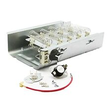 Dryer Heating Element and Thermostat Combo Pack for Electric Dryers Fits Model