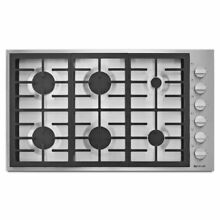 Jenn Air JGC7636BP 36 Stainless Steel 6 Burner Gas Cooktop   NIB   SHIPS FREE