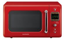 Retro Microwave Oven  Pure Red Vintage Kitchen Appliance