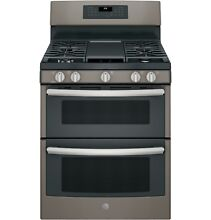 GE  JGB860EEJES 30  Free Standing Gas Double Oven Convection Range