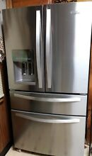 Whirlpool WRX735SDHZ 24 5CF French Door Refrigerator   Stainless Steel