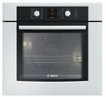 Bosch 500 Series 30  White Electric Wall Oven HBL5420UC