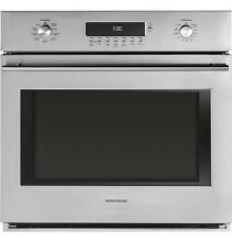 GE Monogram ZET1SHSS Euro Style Single Convection Wall Oven Stainless Steel