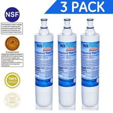 3 Pk Icepure RWF0500A Fits Whirlpool Kenmore 4396508 469010 Refrigerator Filter