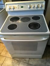 GE Spectra Glass Top Convection Electric Range
