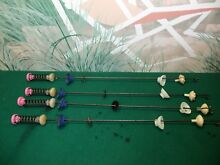 SET OF 4 WHIRLPOOL CABRIO WASHING MACHINE SUSPENSION RODS FROM MODEL WTW8600YWO