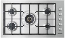 Fisher   Paykel CG365DNGRX2 36  Stainless Steel Gas Cooktop