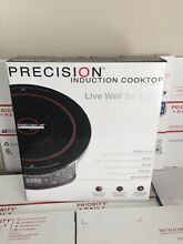Hearthware Precision Induction Cooktop 30121  Cast Iron Grill Pan 31103 NuWave