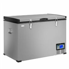 100 Quart Portable Electric Car Cooler Refrigerator   Freezer Compressor Camping