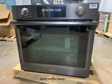 SAMSUNG NV51K7770SG 30 Inch Wall Oven with Steam