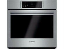 Bosch Benchmark 30  14 Cooking Modes Single Electric Wall Oven HBLP451UC S S IMG