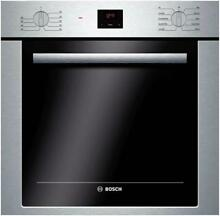 Bosch 500 Series 24  2 8 cu ft Convection Single Electric Wall Oven HBE5451UC IM