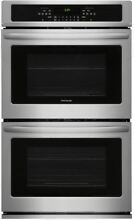 Frigidaire 30  Stainless Steel Built in Electric Double Wall Oven FFET3026TS