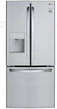 LG LFDS22520S 30 In stainless Steel French Door Refrigerator