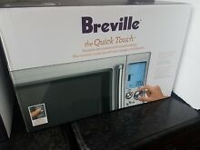 Breville Quick Touch Microwave Oven BMO734XL Polished Stainless Steel