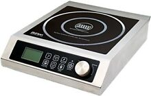 Aervoe Industries 6535 Max Burton Digital ProChef 3000 Induction Cooktop  Stainl