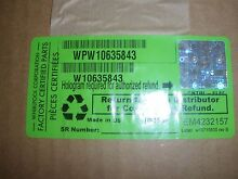 OEM W10635843 Whirlpool Washer Electronic Control Board NEW
