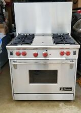 36  Wolf Gourmet Stainless Gas Range 4   griddle
