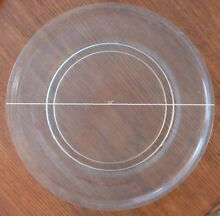 Gently Used GE Microwave Glass Turntable Plate   Tray 16  WB49X10049
