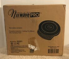 NEW  Nuwave PRO Induction Cooktop w  Carry Case   Papers  30351 CR  1800 Watts