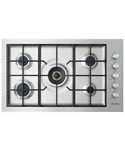 Fisher   Paykel CG365DWNGACX2 Flush Fit 36  Gas Stainless Steel Cooktop