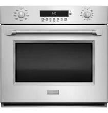 GE Monogram ZET1PHSS Pro Style Single Convection Wall Oven Stainless Steel