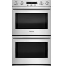 GE Monogram ZET2SHSS 30  Electronic Convection Double Wall Oven Stainless Steel