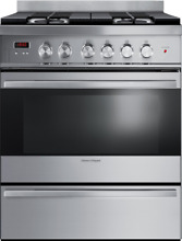 Fisher   Paykel OR30SDBMX1 30 Inch Freestanding Gas Range