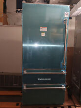 Viking 36  7 Series Refrigerator Two Bottom Freezer Stainless VBI7360WLSS    ALE