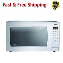 Counter Top Microwave with Inverter Technology 1250 W White Automatic Sensor New