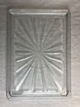 Vintage 736T012P01 S Tappan Microwave Replacement Glass Plate 15 25 x 10 75 Jenn